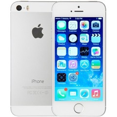 Used as Demo Apple iPhone 5S 16GB Phone Silver (Excellent Grade, FREE SHIPPING)