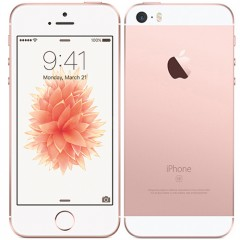 Used as Demo Apple iPhone SE 16GB Rose Gold (Excellent Grade, FREE SHIPPING)