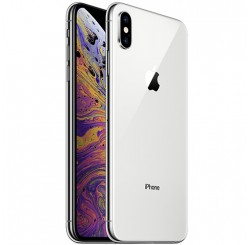 Used as demo Apple Iphone XS MAX 64GB Silver (Excellent Grade, FREE SHIPPING)