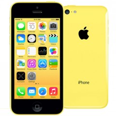 Used as demo Apple iPhone 5C 16GB Yellow (FREE SHIPPING)