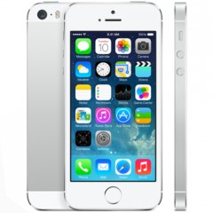Used as Demo Apple iPhone 5S 64GB Silver (Excellent Grade, FREE SHIPPING)