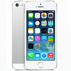 Used as Demo Apple iPhone 5S 32GB Silver (Excellent Grade, FREE SHIPPING)