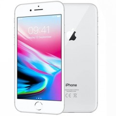 Used as demo Apple Iphone 8 256GB Silver (Excellent Grade, FREE SHIPPING)