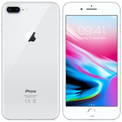 Used as demo Apple Iphone 8 Plus 64GB Phone Silver (Excellent Grade, FREE SHIPPING)