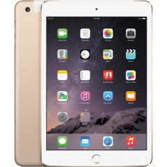 Used as Demo Apple iPad Mini 3 64GB Wifi+cellular Tablet - Gold (AU STOCK,100% GENUINE, FREE SHIPPING)