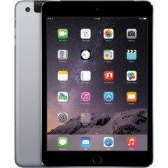Used as Demo Apple iPad Mini 3 64GB Wifi+cellular Tablet - Space Grey (AU STOCK,100% GENUINE, FREE SHIPPING)