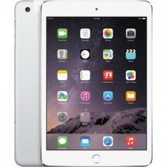 Used as Demo Apple iPad Mini 3 64GB Wifi+cellular Tablet - Silver (AU STOCK,100% GENUINE, FREE SHIPPING)